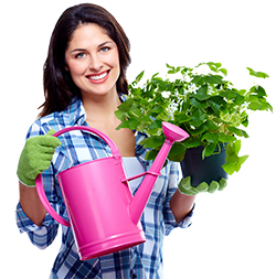 250px Woman With Gardening Stuff